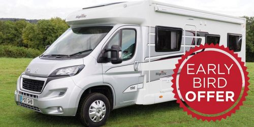 Early Bird Motorhome Offer For 2019 (15% OFF)