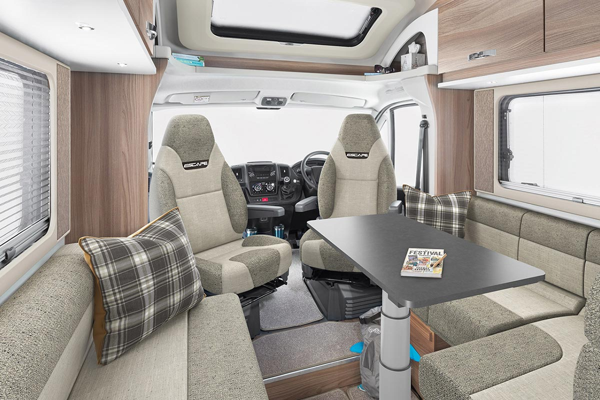 Coachbuilt 4 Berth Motorhome For Hire