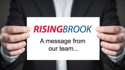 A message from Rising Brook