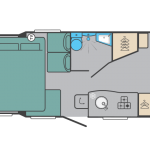 Large Coachbuilt 4 Berth Motorhome