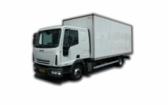 7.5 Ton Box Van With Tail Lift